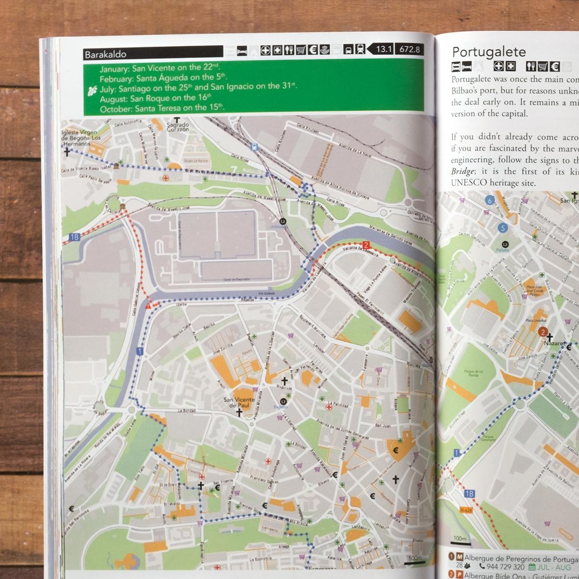 Camino del Norte Guidebook Details
