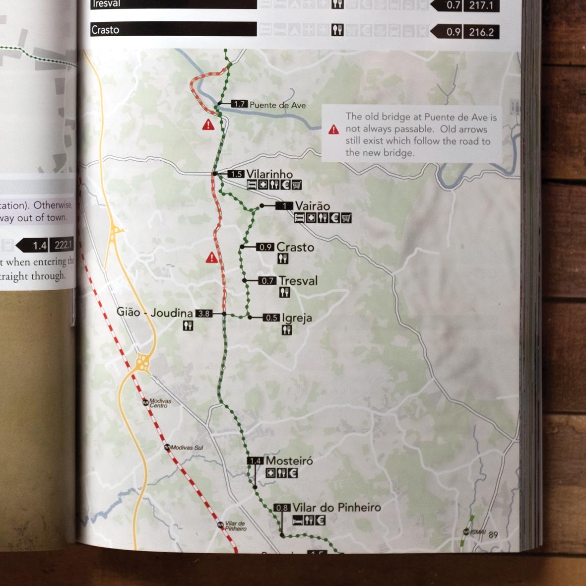Camino Portugués Guidebook Details