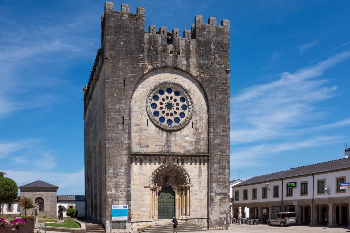 Photo of Portomarín on the Camino de Santiago