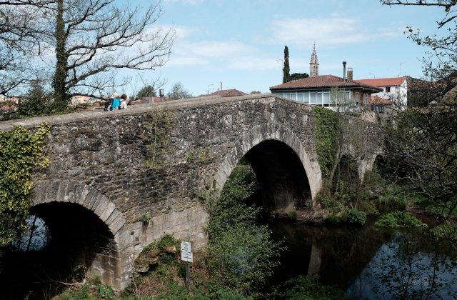 Photo of Furelos on the Camino de Santiago