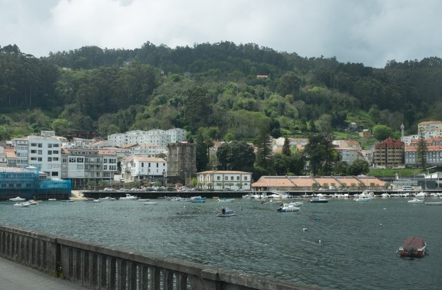 Photo of Pontedeume on the Camino de Santiago