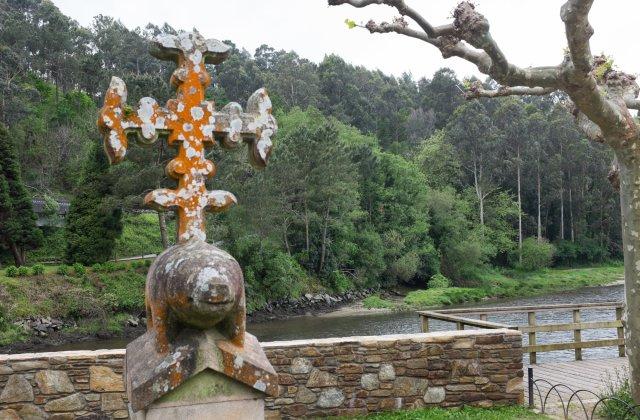Photo in A Ponte do Porco on the Camino de Santiago