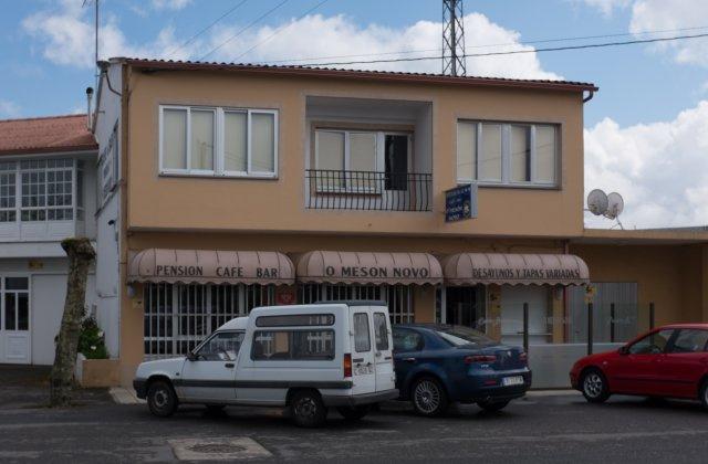 Camino de Santiago Accommodation: Pensión O Mesón Novo ⭑⭑