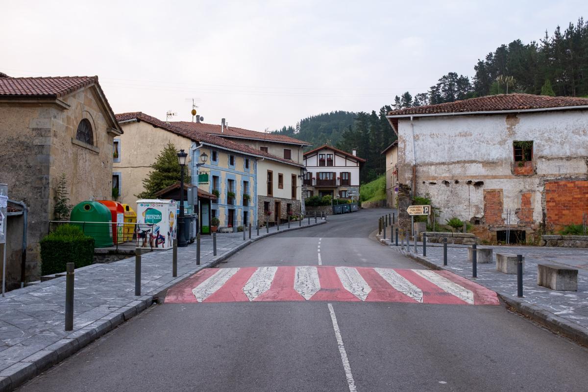 Photo of Munitibar on the Camino de Santiago