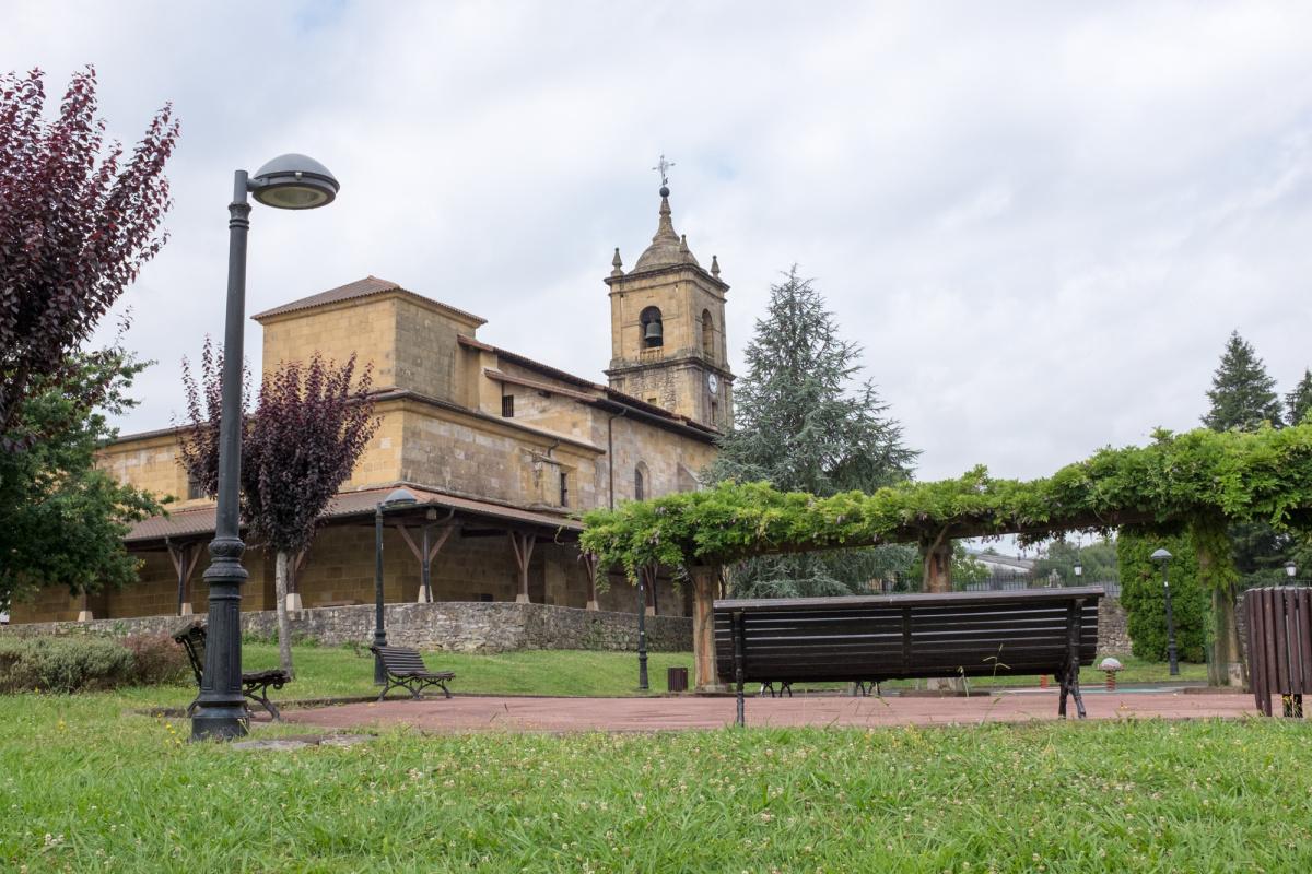 Photo of Lezama on the Camino de Santiago