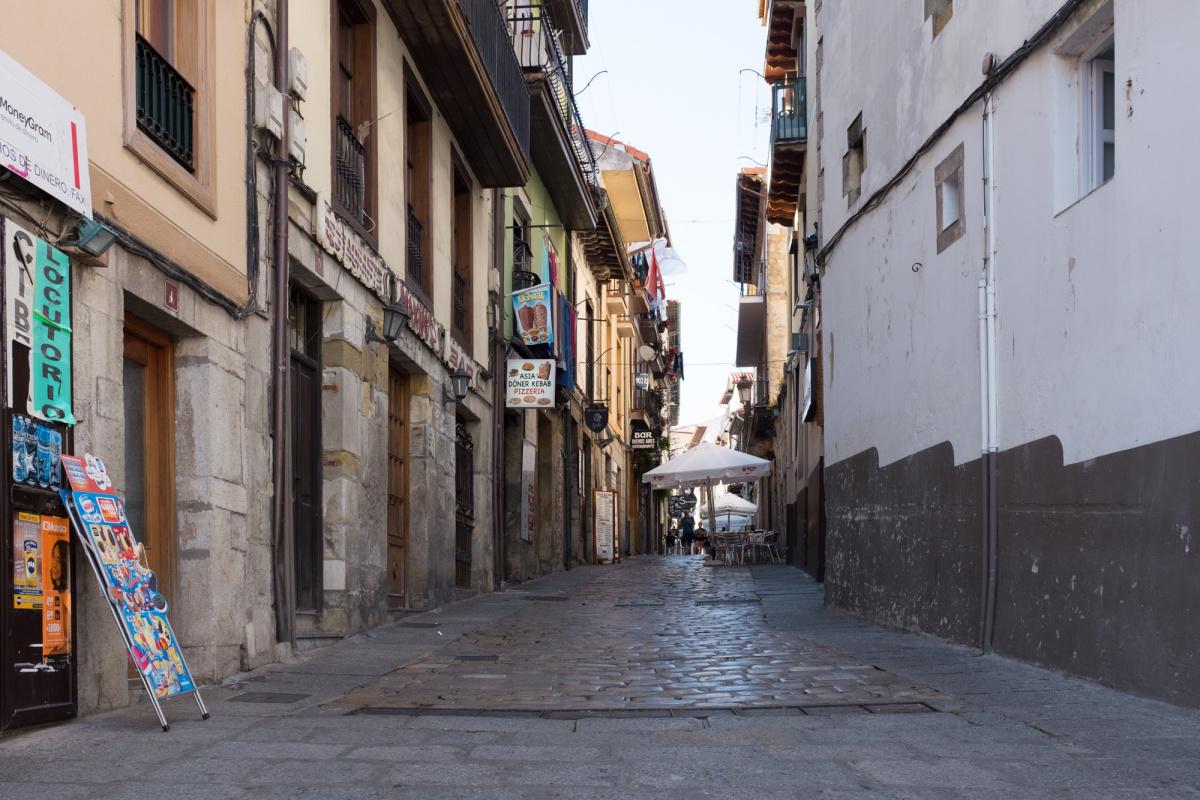 Photo of Laredo on the Camino de Santiago