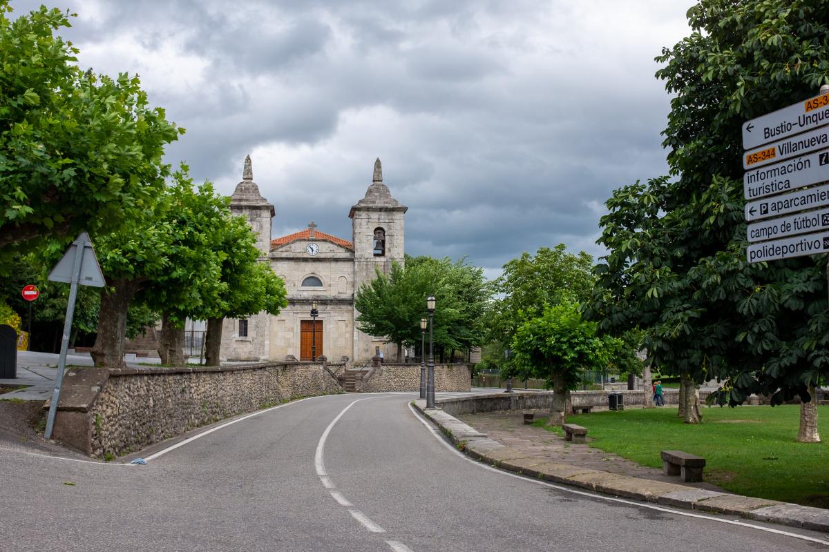 Photo of Colombres on the Camino de Santiago