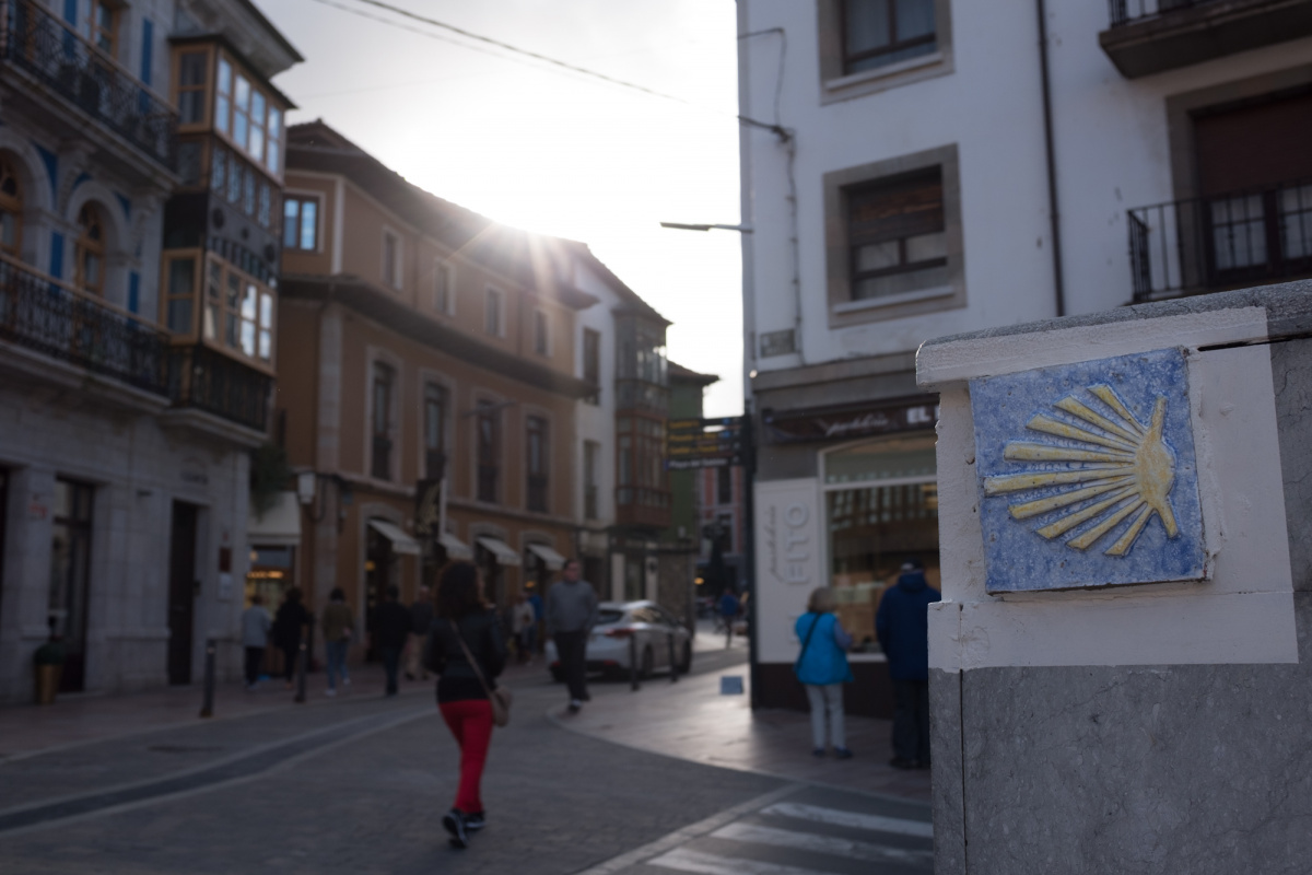 Photo of Llanes on the Camino de Santiago