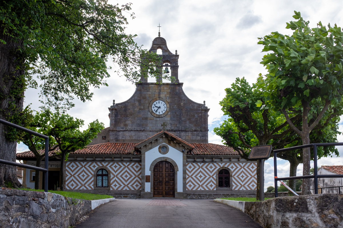Photo of San Esteban de Leces on the Camino de Santiago