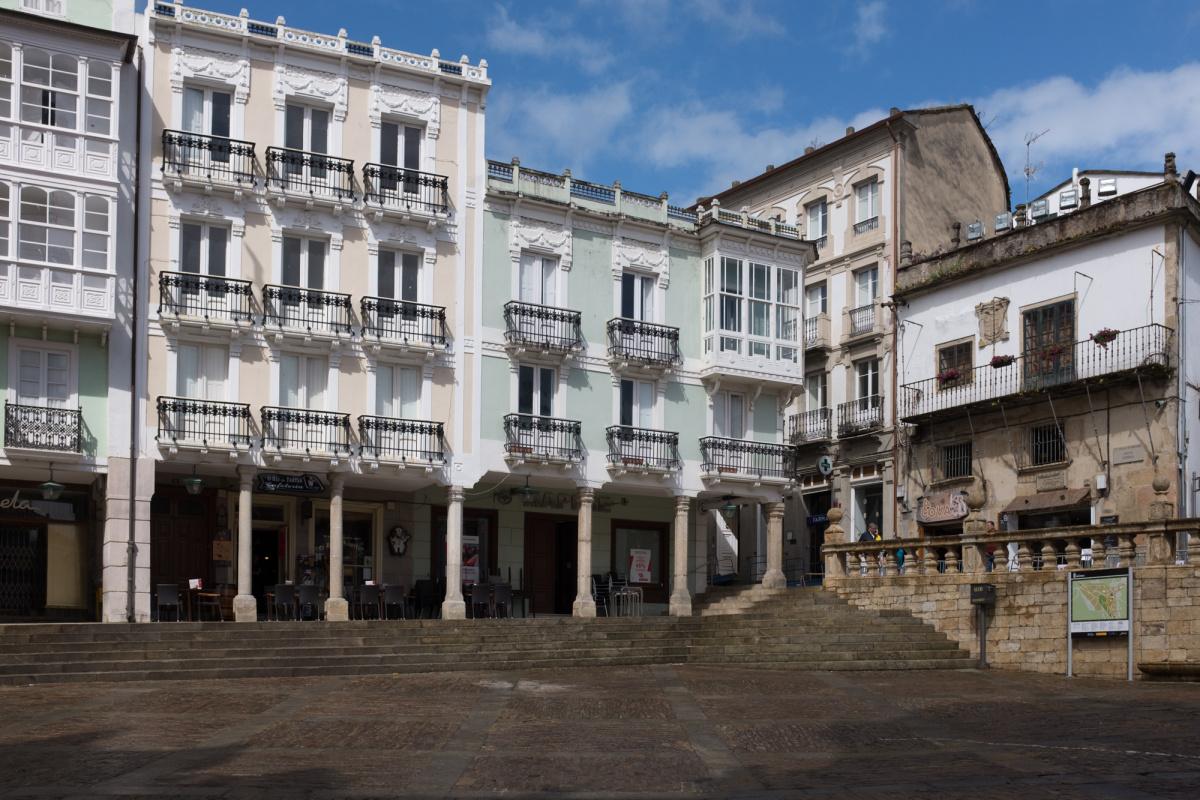 Photo of Mondoñedo on the Camino de Santiago