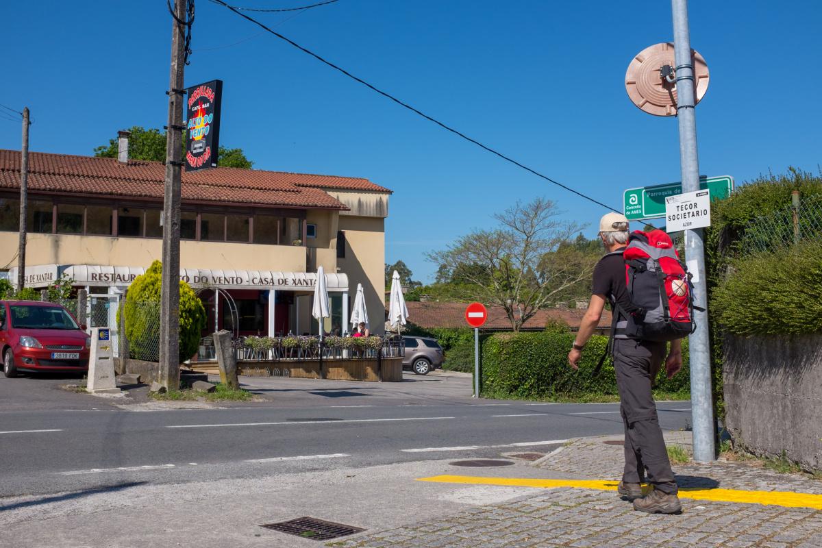Photo of Alto do Vento on the Camino de Santiago