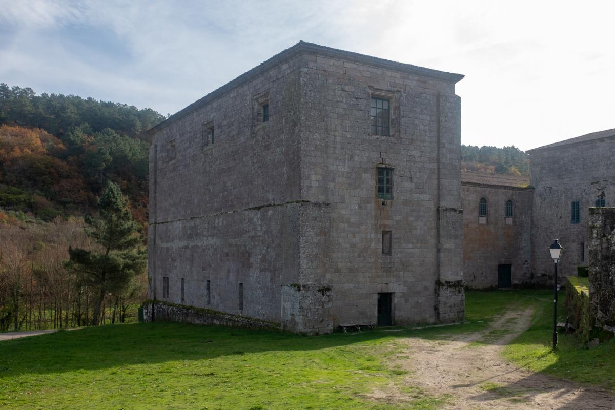 Camino de Santiago Accommodation: Albergue del Monasterio de Oseira