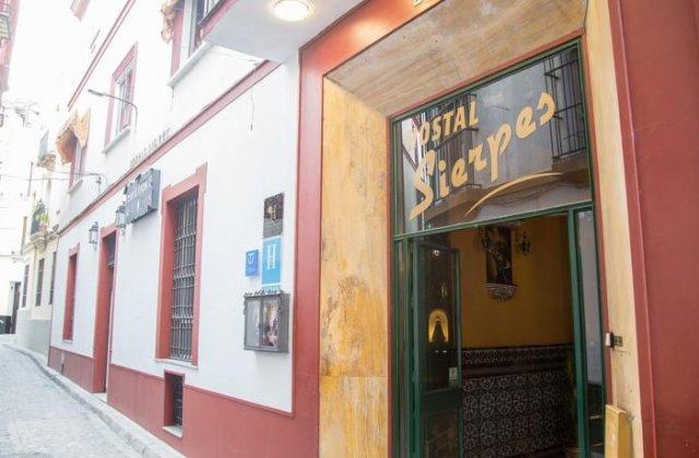 Camino de Santiago Accommodation: Hostal Sierpes ⭑