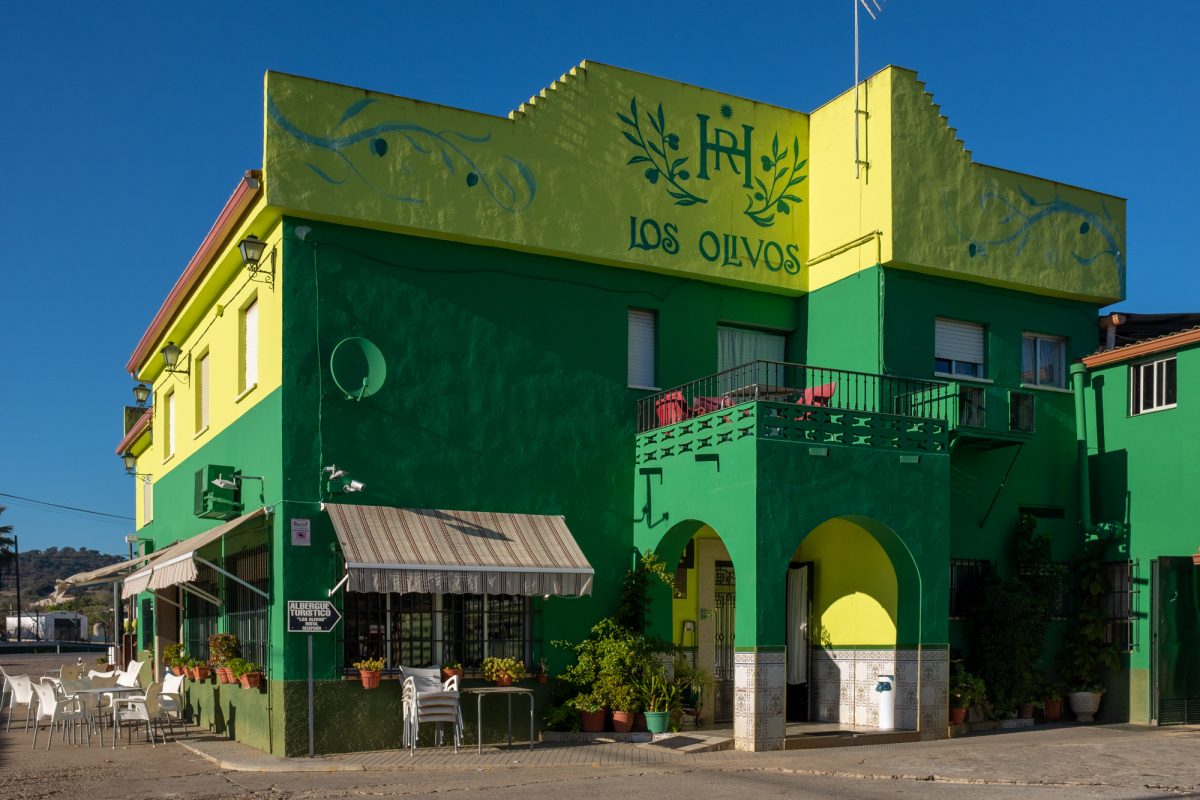 Camino de Santiago Accommodation: Hostal Los Olivos