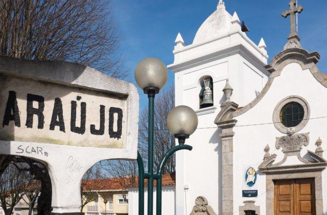 Photo of Araújo on the Camino de Santiago