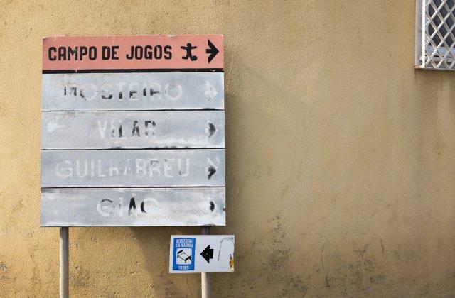 Photo in Vilar do Pinheiro on the Camino de Santiago