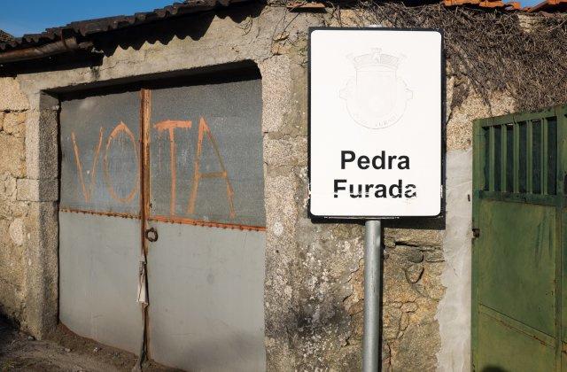 Photo of Pedra Furada on the Camino de Santiago
