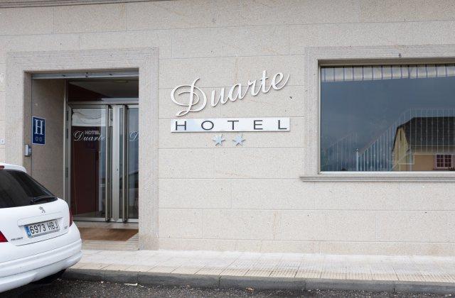 Camino de Santiago Accommodation: Hotel Duarte