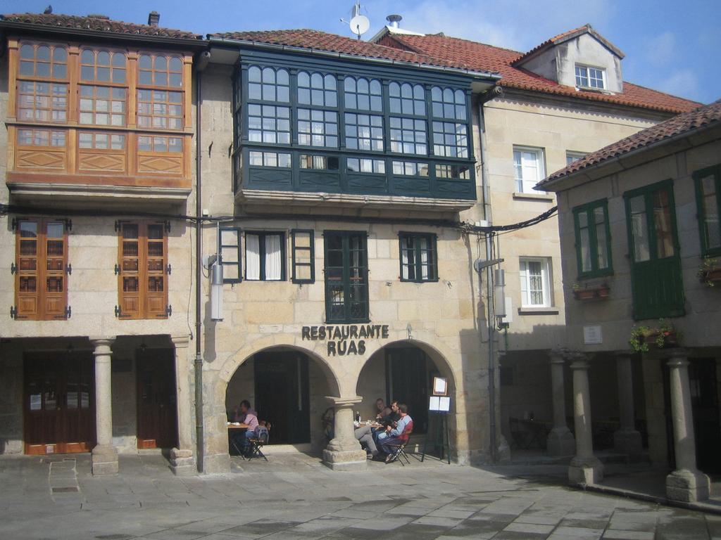 Camino de Santiago Accommodation: Hotel Rúas ⭑