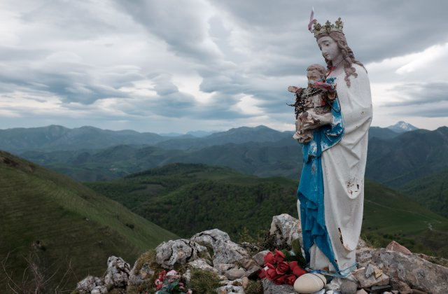 Photo of Virgen de Biakorri on the Camino de Santiago