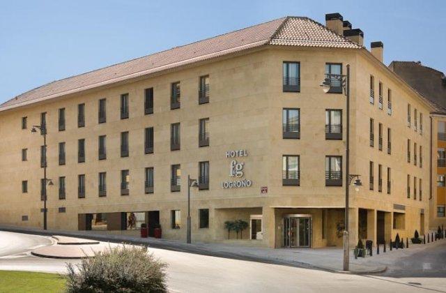Camino de Santiago Accommodation: Hotel F&G Logroño ⭑⭑⭑