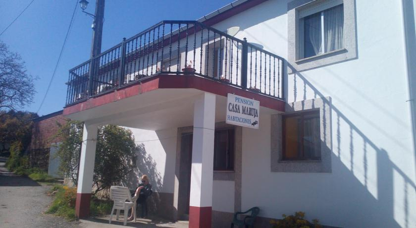Camino de Santiago Accommodation: Pensión Casa Maruja