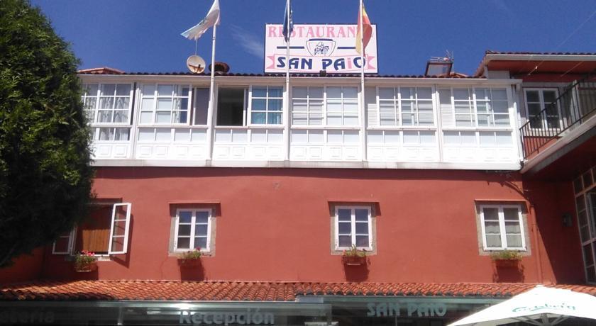 Camino de Santiago Accommodation: Hostal San Paio