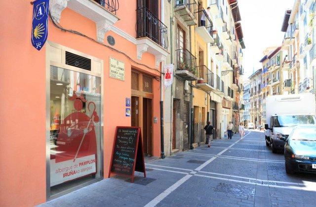 Camino de Santiago Accommodation: Albergue de Pamplona-Iruñako Aterpea