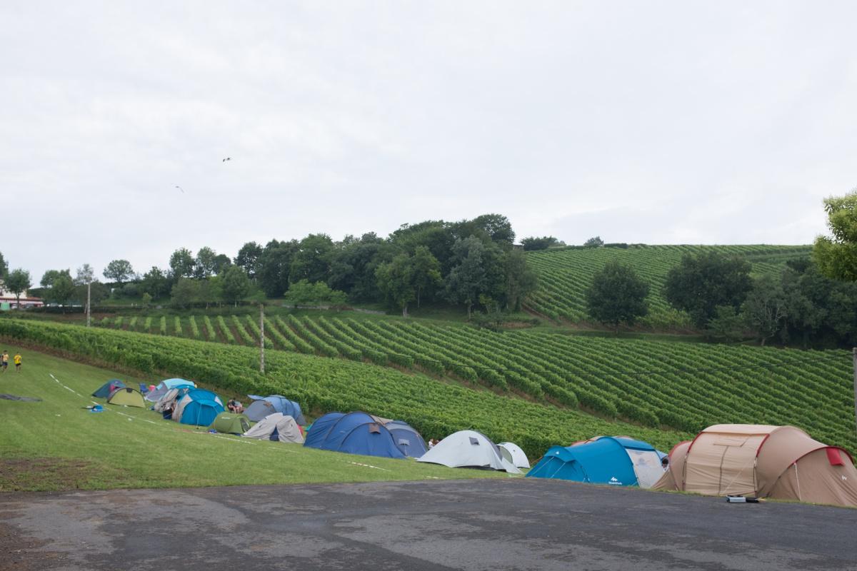 Camino de Santiago Accommodation: Albergue Gran Cámping Zarautz