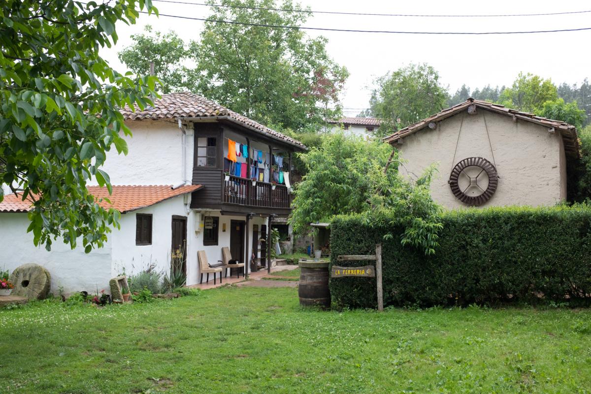 Camino de Santiago Accommodation: Albergue de peregrinos La Ferrería