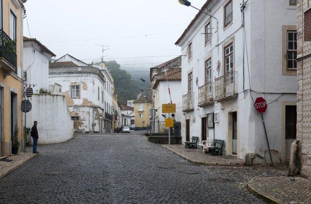 Photo of Ribeira de Santarém on the Camino de Santiago
