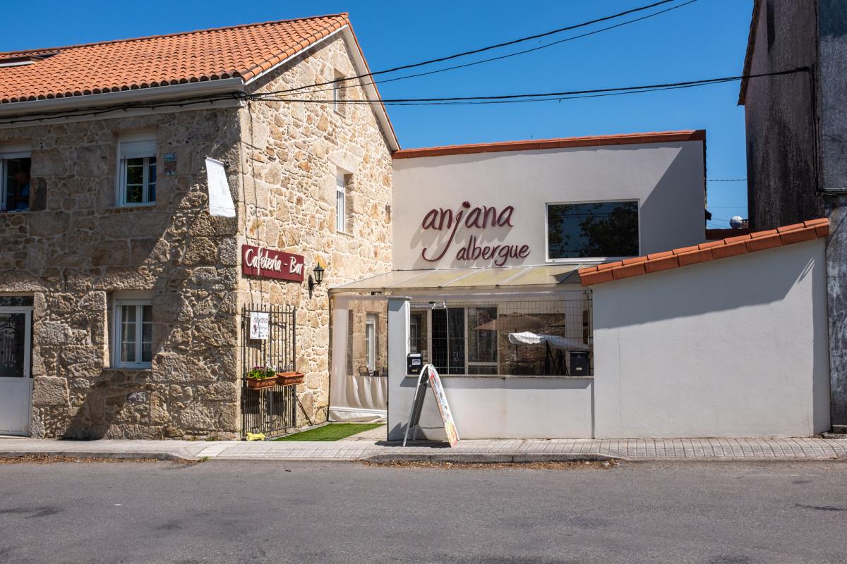 Camino de Santiago Accommodation: Albergue Anjana