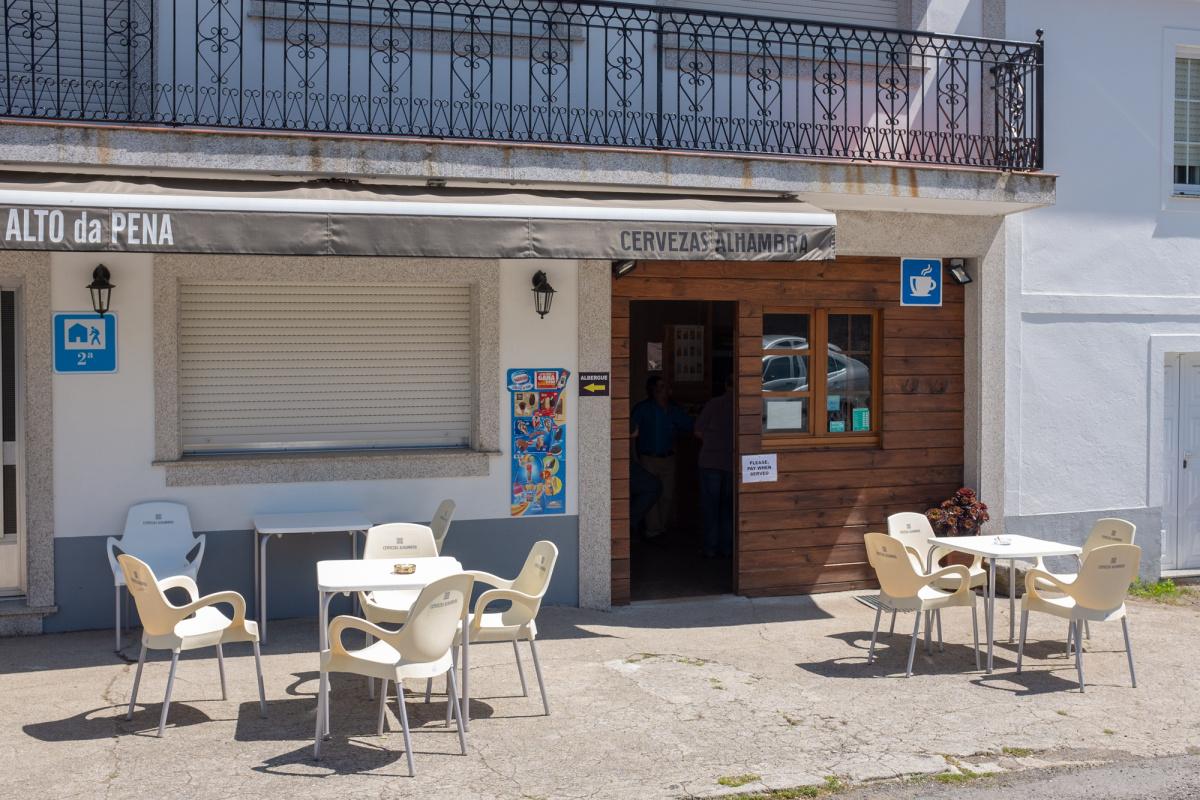 Camino de Santiago Accommodation: Albergue Alto da Pena