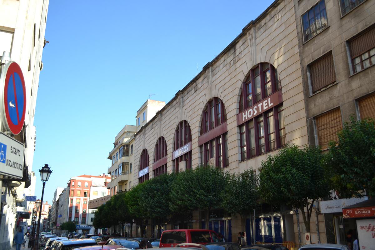 Camino de Santiago Accommodation: Hostel Burgos
