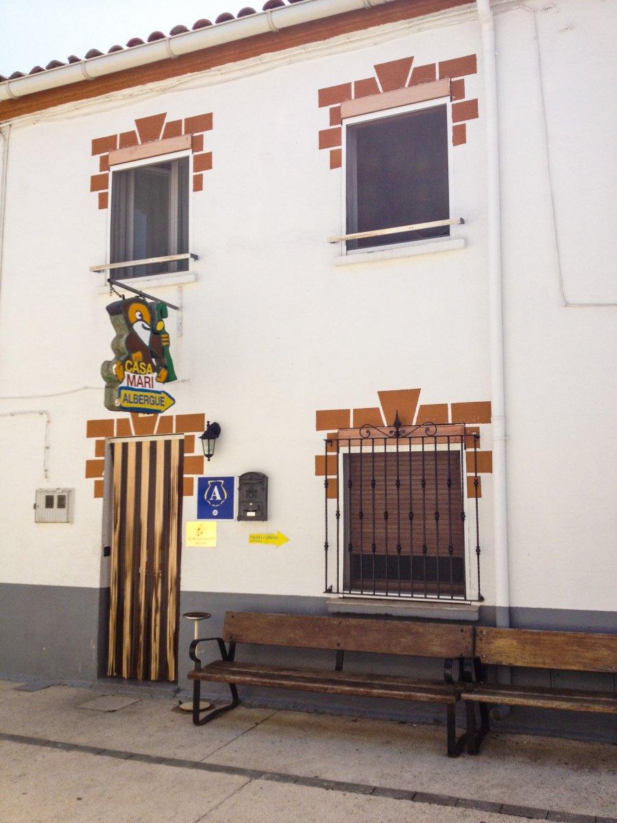 Camino de Santiago Accommodation: Albergue Casa Mari