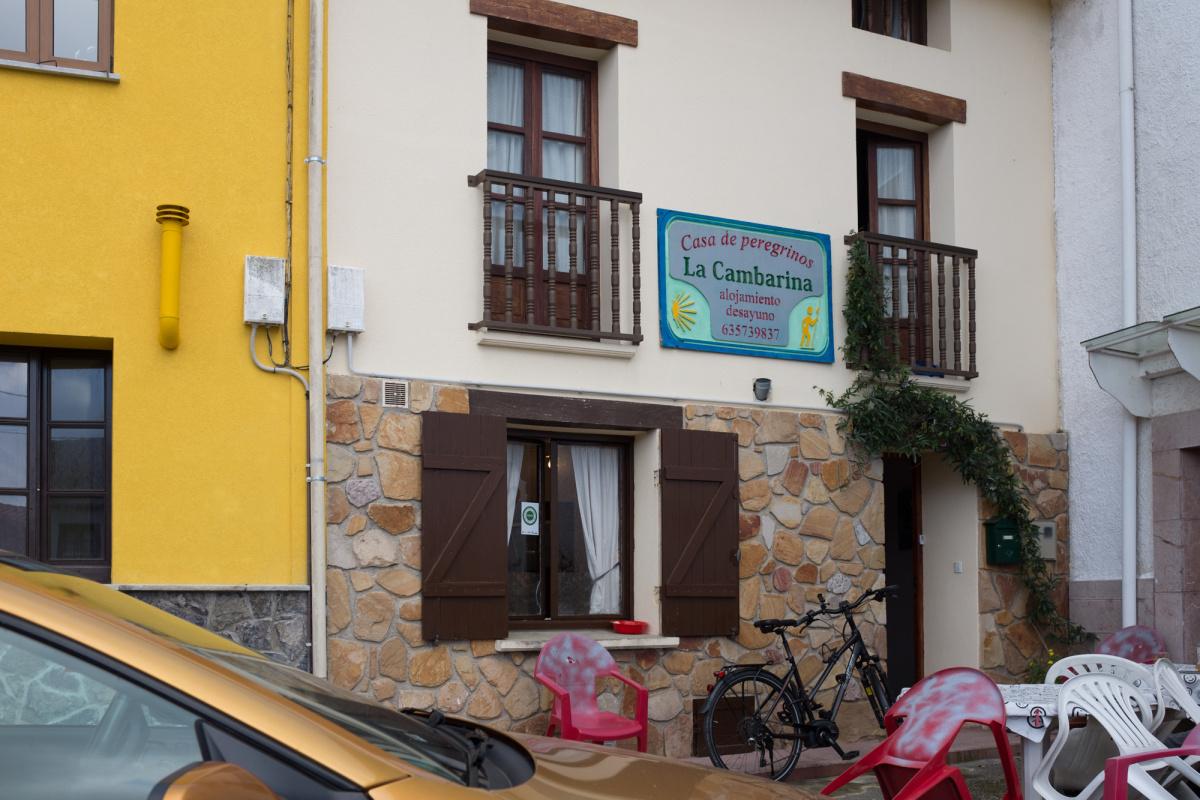 Camino de Santiago Accommodation: Albergue La Cambarina