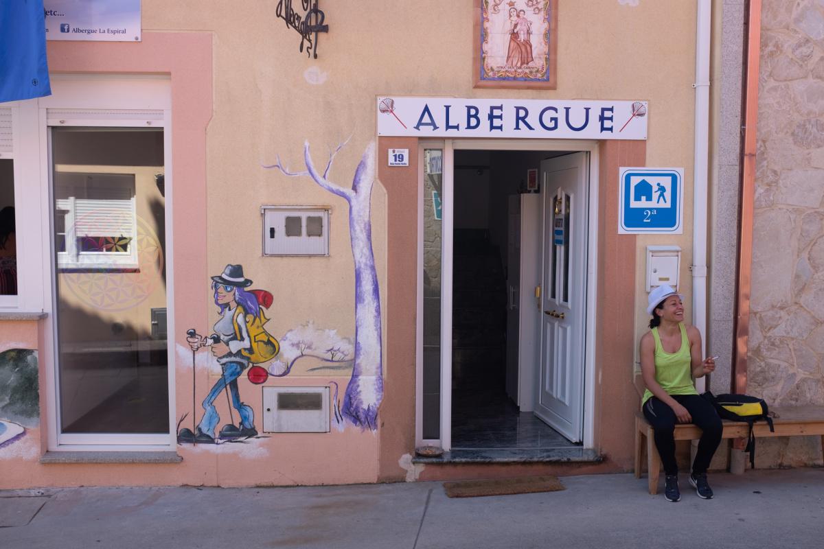 Camino de Santiago Accommodation: Albergue La Espiral