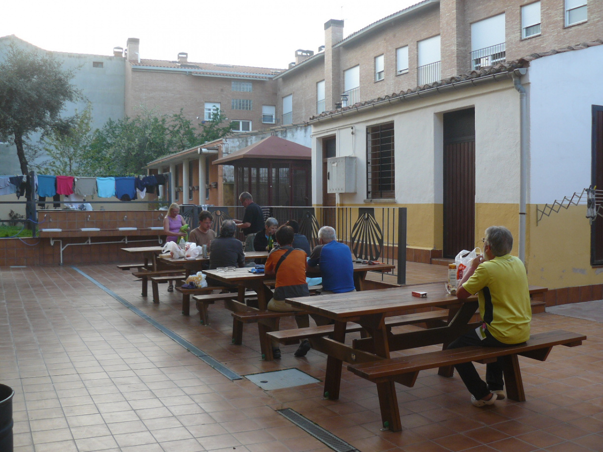 Camino de Santiago Accommodation: Albergue Casa del Santo
