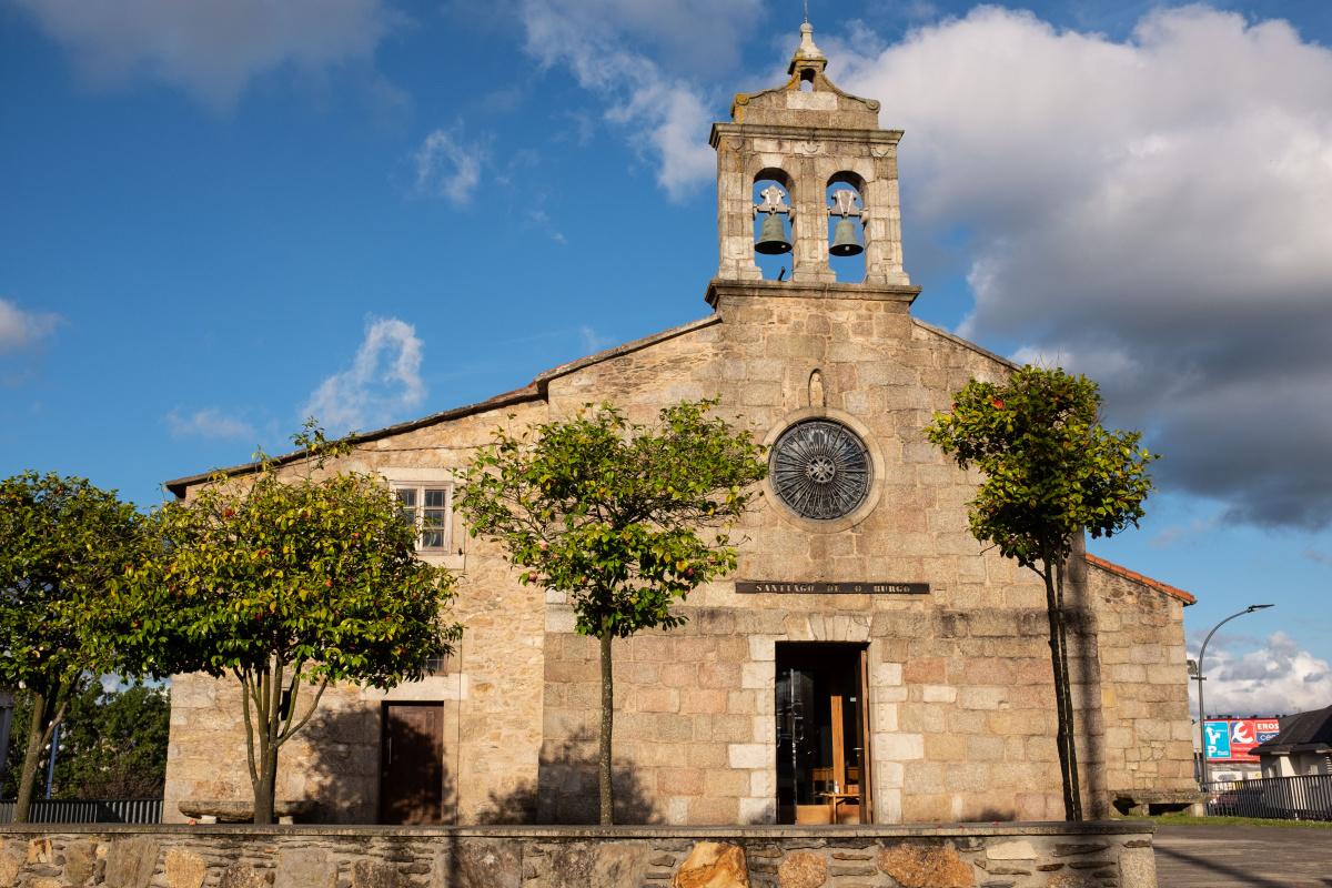 Photo of O Burgo on the Camino de Santiago