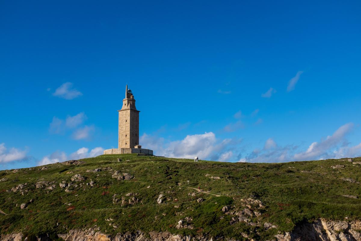 Photo of La Coruña on the Camino de Santiago