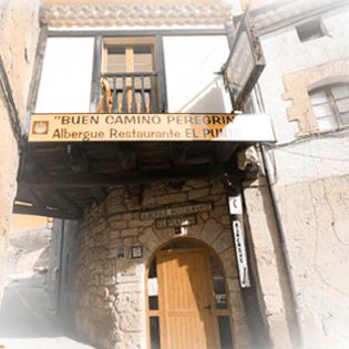 Camino de Santiago Accommodation: Mesón Albergue El Puntido