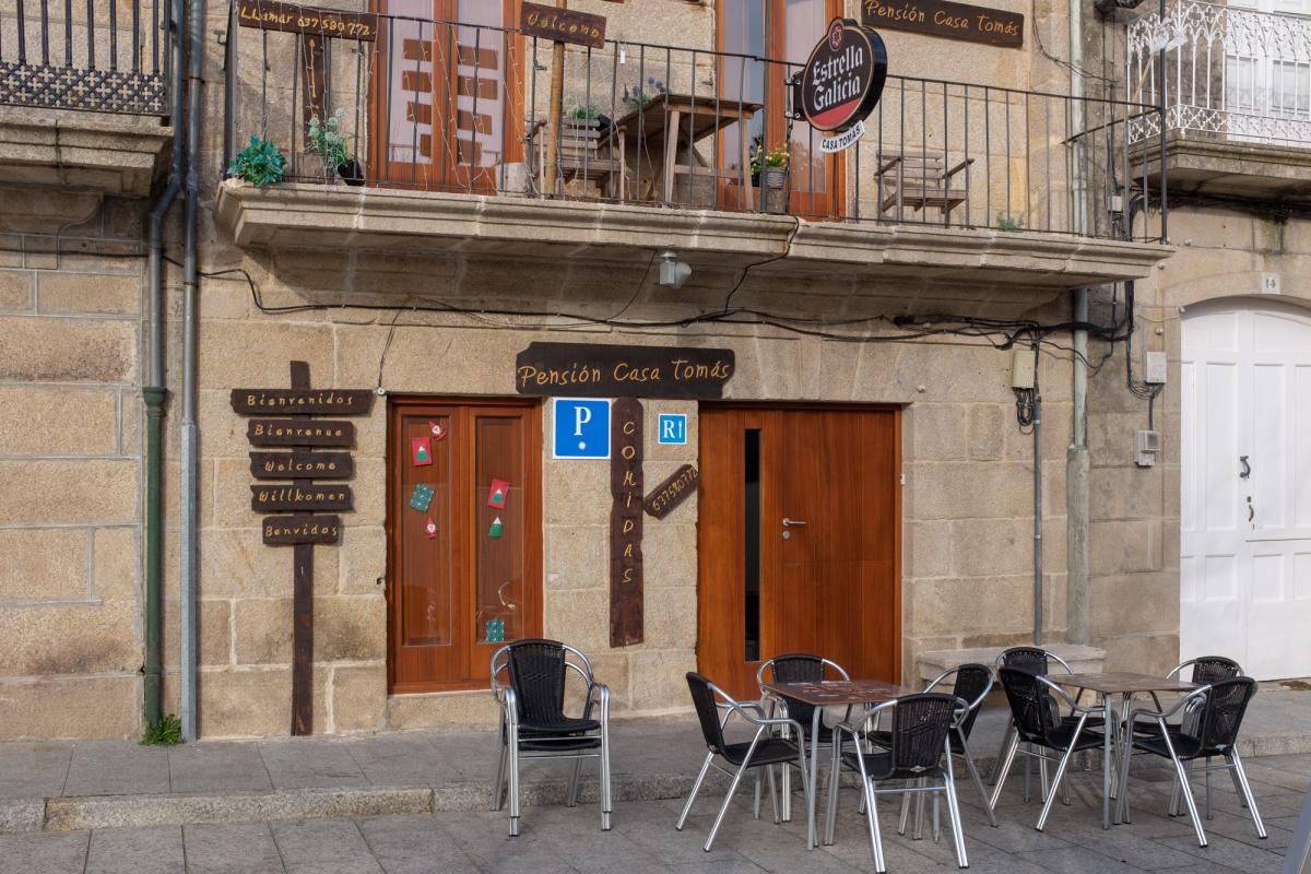 Camino de Santiago Accommodation: Albergue Casa Tomás