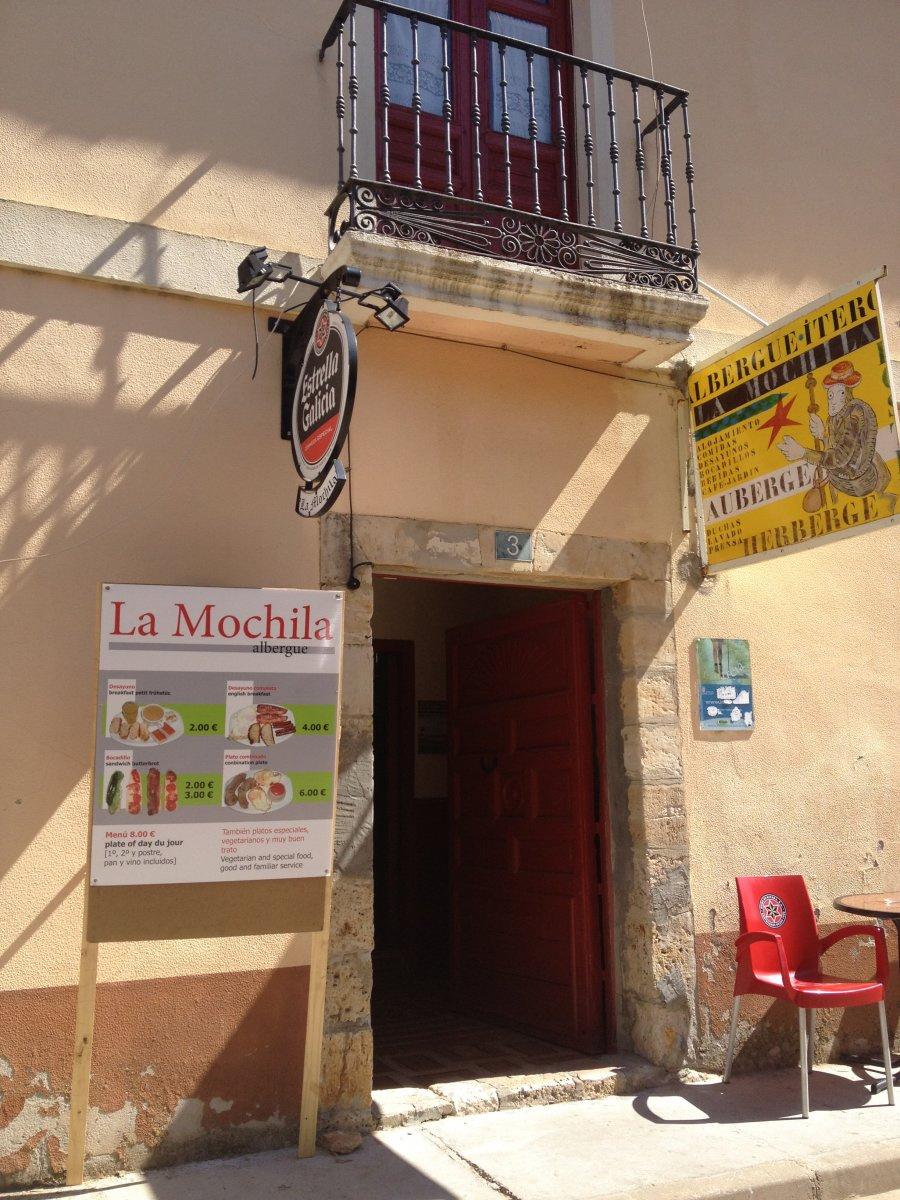 """Photo in Albergue de Itero """"La Mochilla"""" on the Camino de Santiago"""