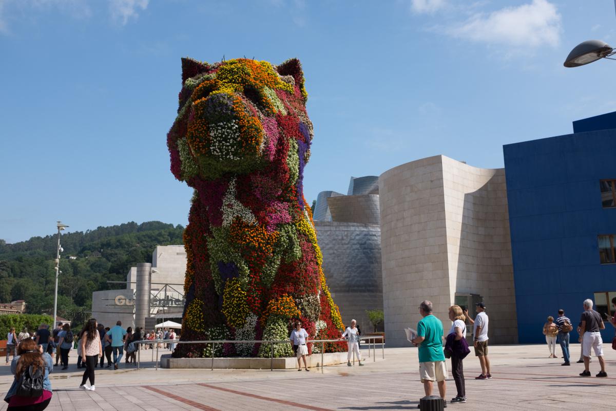 Photo of Bilbao at the start of the Camino Olvidado on the Camino de Santiago