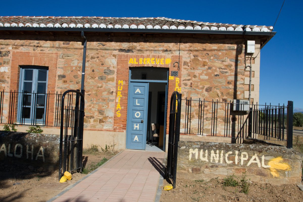 Camino de Santiago Accommodation: Albergue de Peregrinos Murias de Rechivaldo