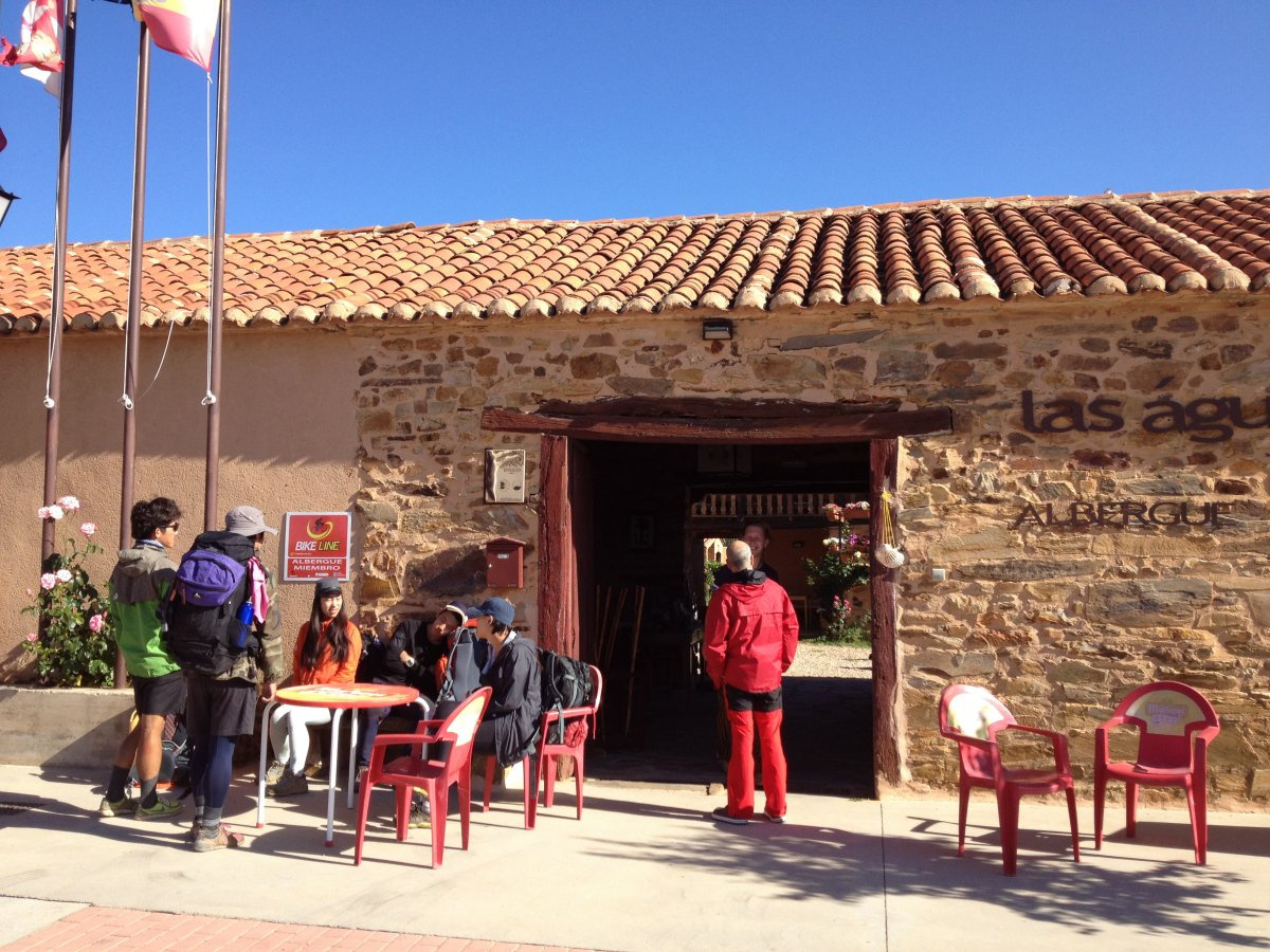 Camino de Santiago Accommodation: Albergue las Águedas