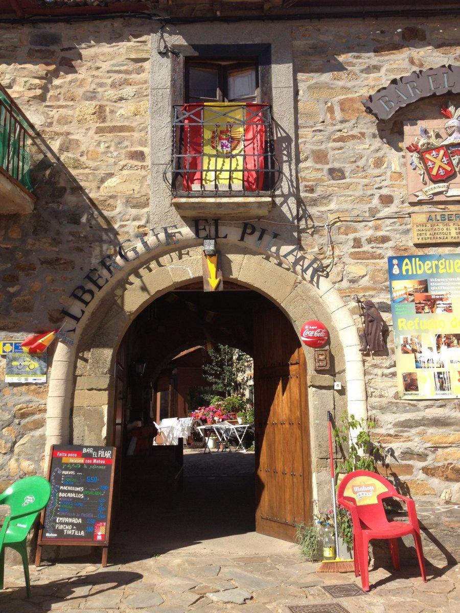 Camino de Santiago Accommodation: Albergue Nuestra Señora del Pilar