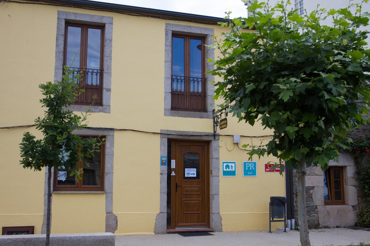 Camino de Santiago Accommodation: Albergue A Pedra