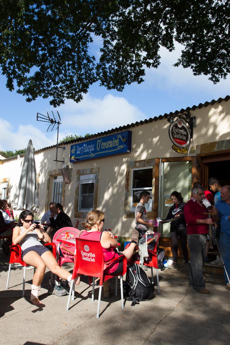 Camino de Santiago Accommodation: Albergue O Cruceiro