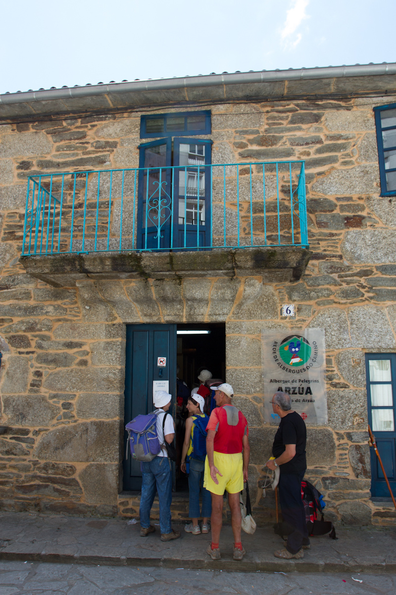 Camino de Santiago Accommodation: Albergue de Arzúa